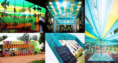 Indian Themed Decor by Wedding Decor Theme Theme Wedding Planner New Delhi