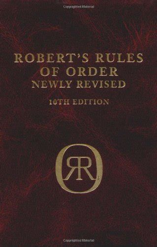 robert s of order books robert s of order newly revised 10th edition