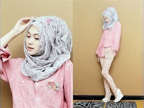 Simple Hijab Style Without Inner Cap