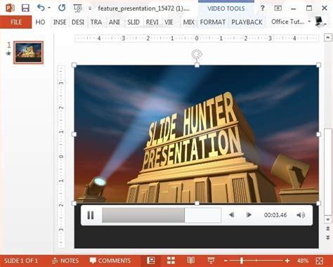 Animated Spotlight Powerpoint Template Slidehunter Com Spotlight Powerpoint Template