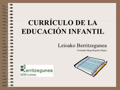 dcn de educacion inicial curriculo infantil 12 2009 20 enero