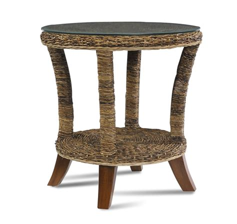 Table Paradise Ca by Seagrass End Table Wicker Paradise