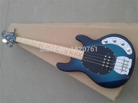 Gitar Bass Musicman String 73 aliexpress buy free shipping musicman 4 strings bass stingray blue electric bass