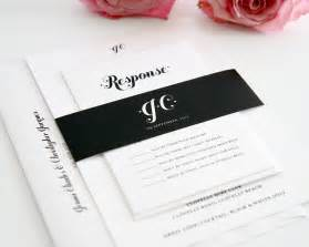 wedding invitations black and white black and white wedding invitations wedding invitations