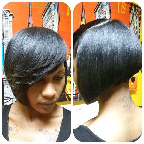 angled bob hair style fors black women lovely and convenient angled bob haircuts popular haircuts