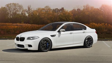 Car White Wallpaper by Bmw M5 F10 White Car Wallpaper 1600x900 16201
