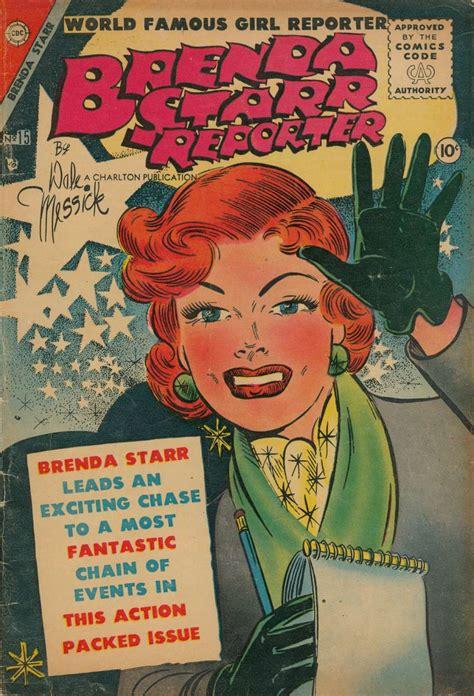 comic book reporter brenda 15 charlton comic book plus