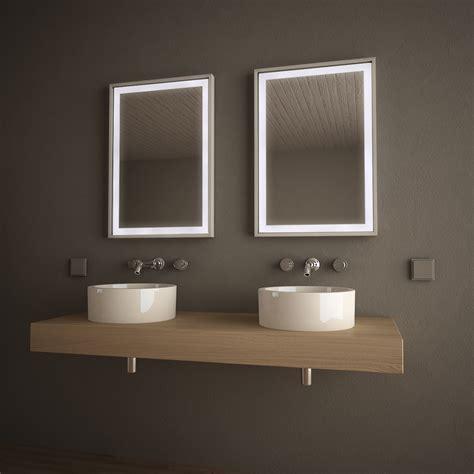 spiegelle led spiegel led mit alurahmen frame 989705152