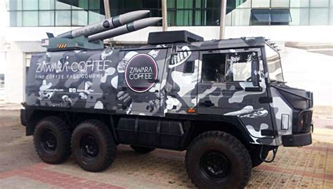 Coffee Zawara zawara coffee apologises for rocket launcher gimmick