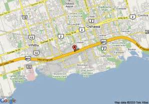 oshawa canada map map of travelodge oshawa whitby oshawa