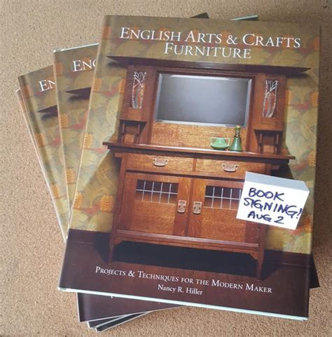 english arts crafts furniture projects techniques