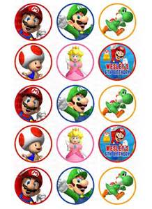 super mario bros cake toppers ithinkparty digital art