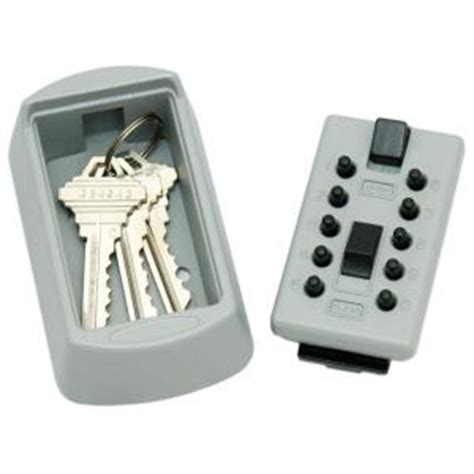 lockstate keydock wall mount 5 key lock box safe