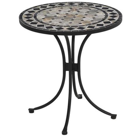 Black Bistro Table Bistro Table In Black Gray 5605 34
