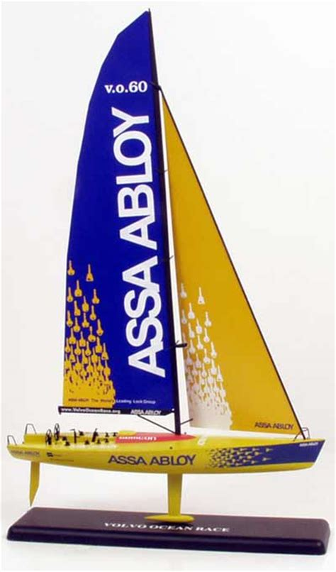 scale racing yacht