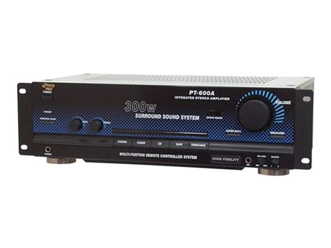 Rack Mount Home Theater Receiver by Advertisement