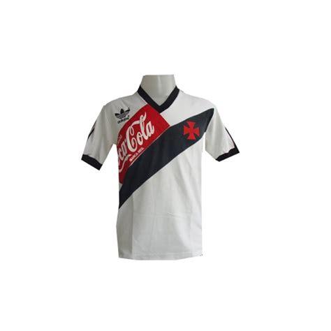 coca cola vasco camisa retr 244 vasco branca 1989 coca cola vermelha