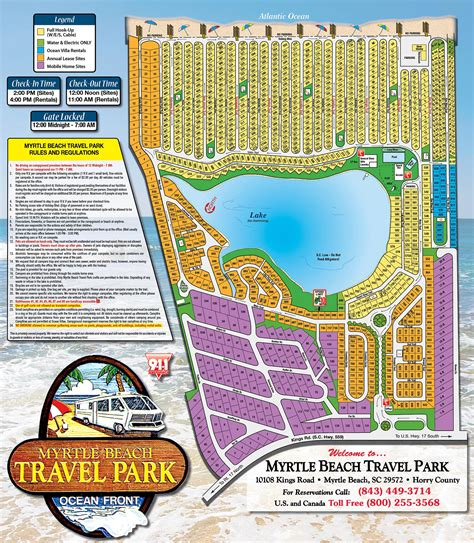 travel directions and map myrtle travel park maps directions myrtle