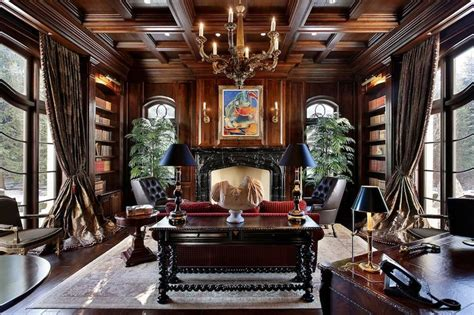 victorian style home office old world gothic and victorian interior design