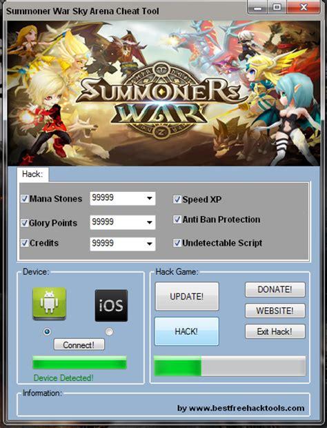 tutorial hack summoners war summoners war sky arena hack tool free download 2017