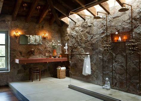 rustic bathroom ideas shower maxwells tacoma cozy