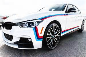 bmw 340i gets an m sport package and m stripes