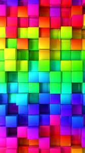 colors rainbow rainbow cubes that would be a pretty and bright quilt