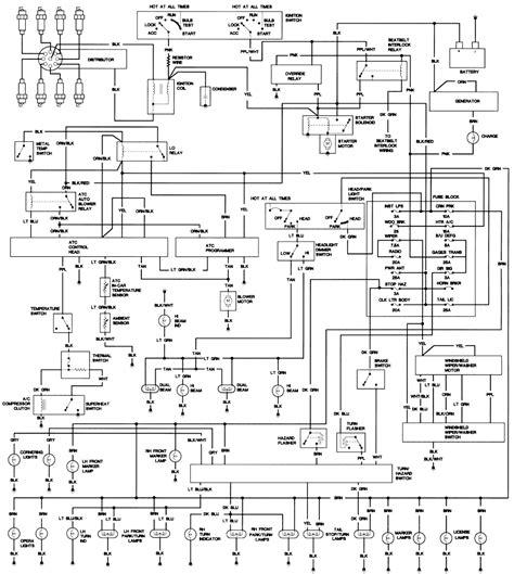 category cadillac wiring diagram