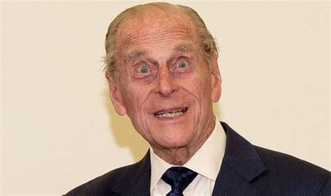 Joking Prince Philip is back to his best as he visits elderly care centre   Royal   News
