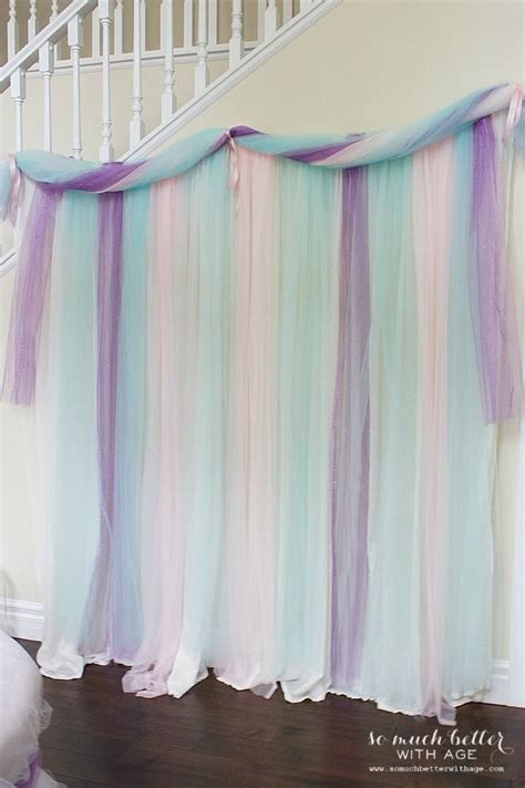 Best 25 Tulle Table Ideas by 25 Best Ideas About Tulle Backdrop On Tulle