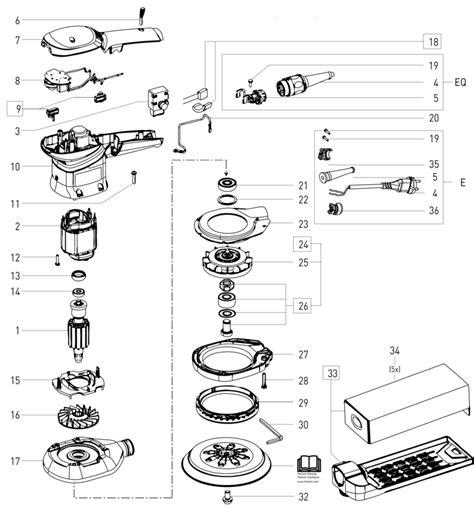 Sparepart R 150 festool ets 150 5 eq 230v 499957 spare parts tool machinery centre
