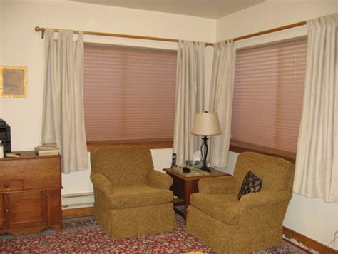 curtains over heater curtain length when baseboard is under window