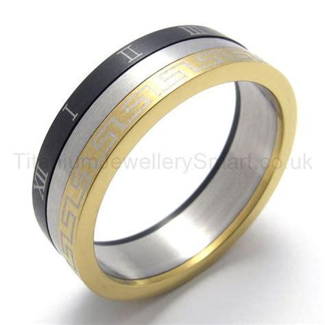 Gelang Titanium 3color three loops three colors titanium ring 20211 163 97