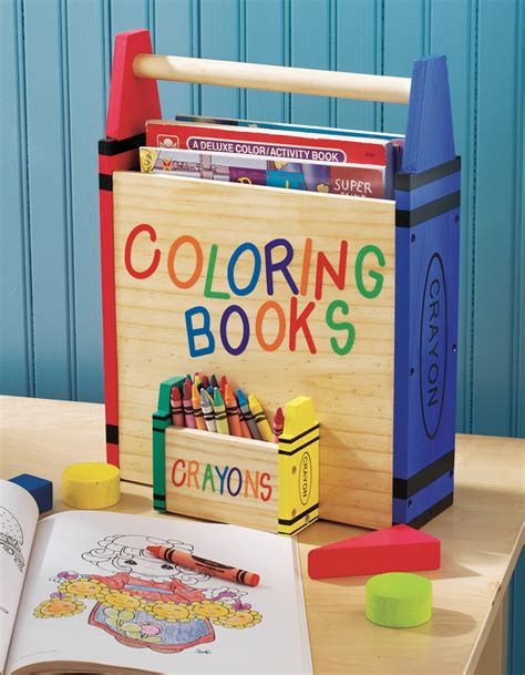 crayon picture book collections etc coloring book and crayons storage carrier