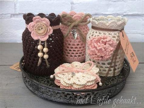 vidros decorados em croche graficos leuke potjes omhaakt h 225 čkov 225 n 237 pinterest croch 234