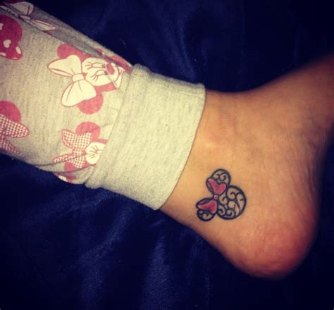minnie tattoo minnie mouse tattoos minnie mouse