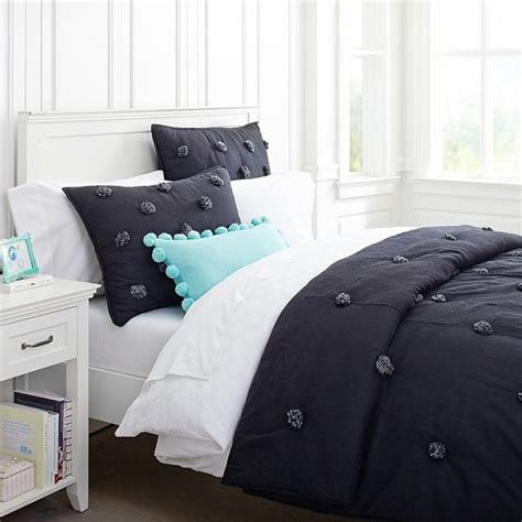 solid bedding chic black and white bedding for teen girls