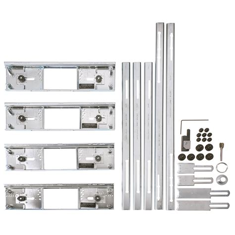 hinge mortising template shop porter cable hinge template kit at lowes