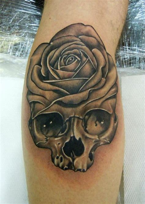 black rose skull tattoo designs 30 black designs images and picture ideas