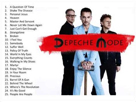 the best of depeche mode the best of depeche mode top 25 time for