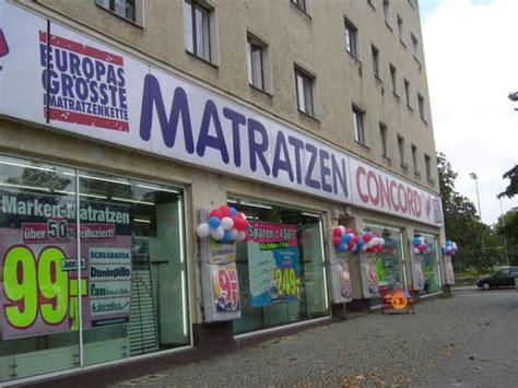 concord matratzen berlin berlin matratzen haus planen