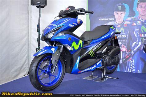 Yamaha Movistar by 2017 Yamaha Nvx Appears In Movistar Yamaha