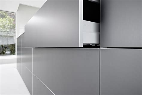 Küche bulthaup b3 mit Einbaugeräten von Miele, Gaggenau
