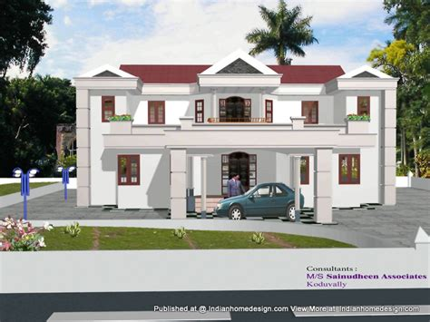 n exterior house kerala home design and floor plans