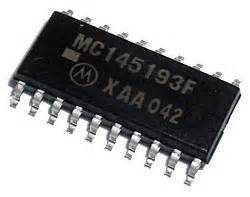 Mc14049bcp mc145193f 1 1ghz pll frequency synthesizer ic motorola