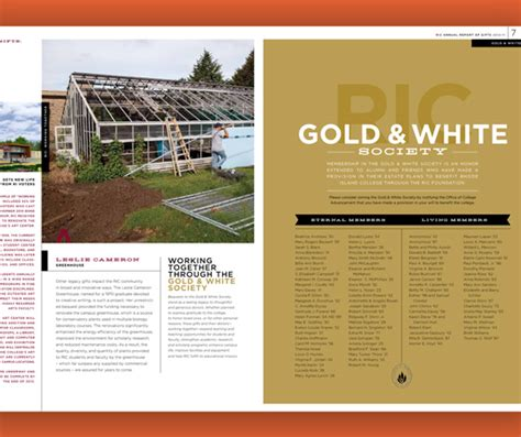 pinterest report layout rhode island college annual report graphic design