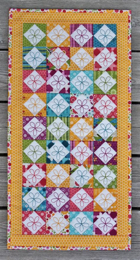 Happy In Quilting by Jen Daly Quilts Happy Free Mini Charm Pack Pattern