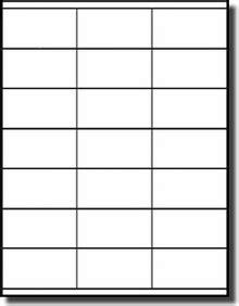 10 Labels Per Sheet Template by 420 Compulabel 174 Square Corner Address Labels 2 833 X 1 5
