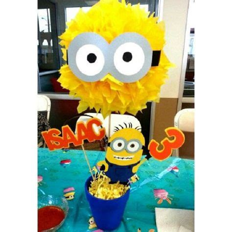 minions centerpieces meer dan 1000 idee 235 n minion centerpieces op