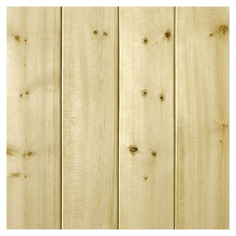 Pine Wainscoting Lowes Shop Empire Company 3 5625 In X 2 67 Ft V Groove Pine